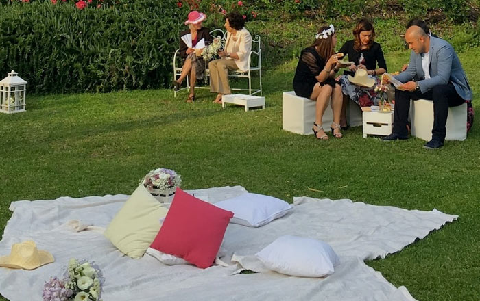 Wedding pic-nic